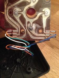 ATARI VCS Joystick Leiterplatte A